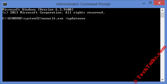 Windows 10 Force Upgrade Command
